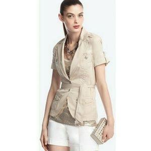 WHBM safari style jacket